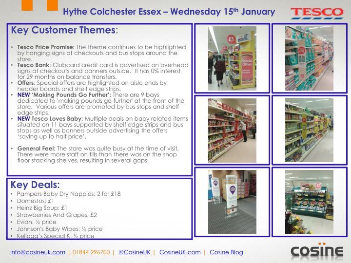 Hythe Colchester Essex