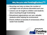 why recycle with fundingfactory