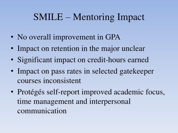 SMILE – Mentoring Impact