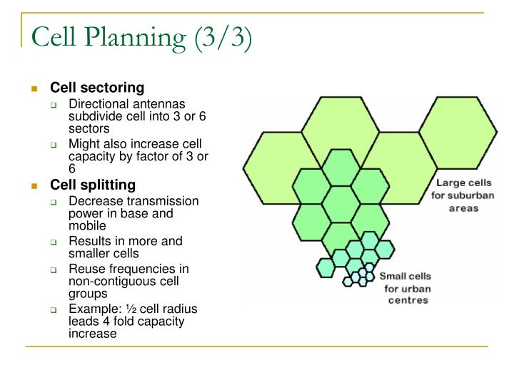 Cell Planning (3/3)