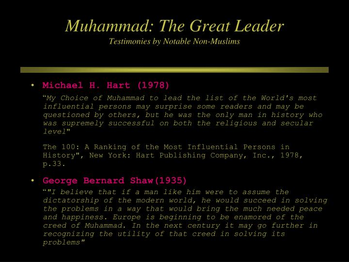 Muhammad: The Great Leader