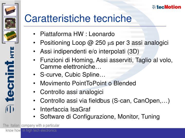 Piattaforma HW : Leonardo