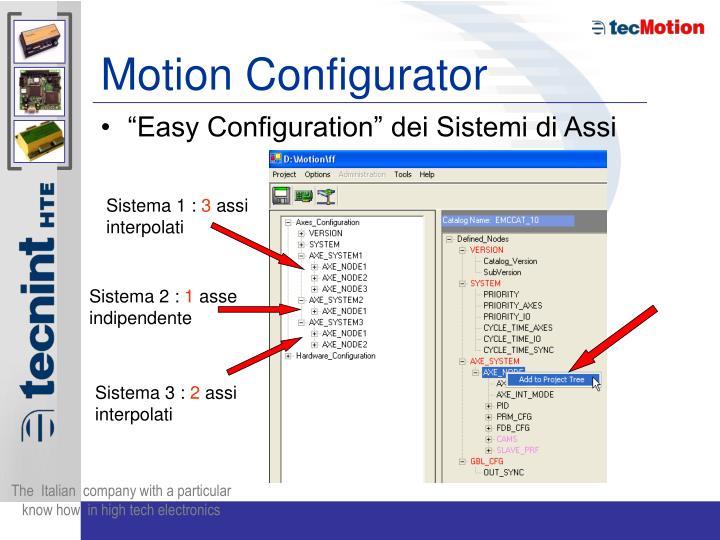 Motion Configurator