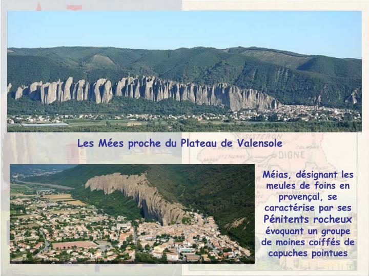 Les Mées proche du Plateau de Valensole
