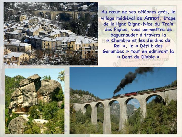 Au cœur de ses célèbres grès, le village médiéval de