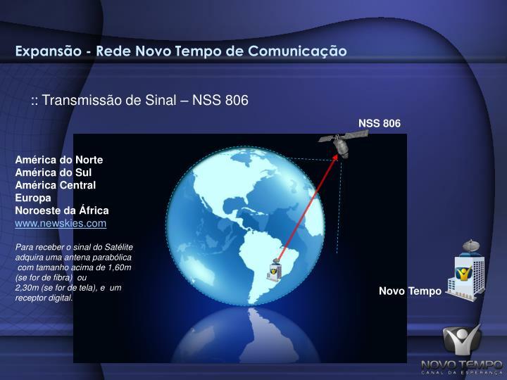 Expansão - Rede Novo Tempo de Comunicação