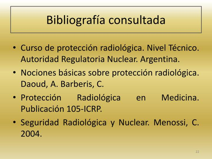 Bibliografa consultada