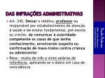 das infra es administrativas