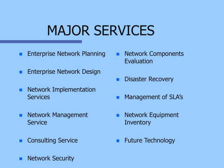 Enterprise Network Planning