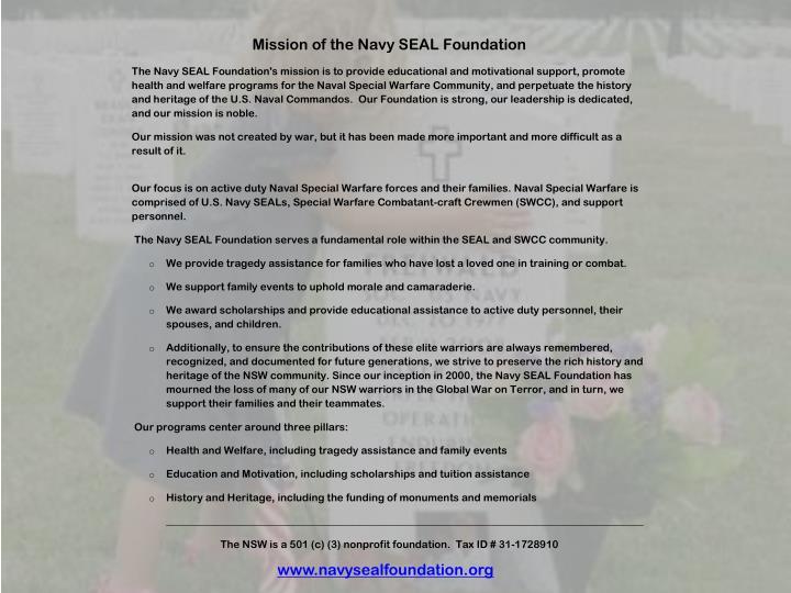 www.navysealfoundation.org