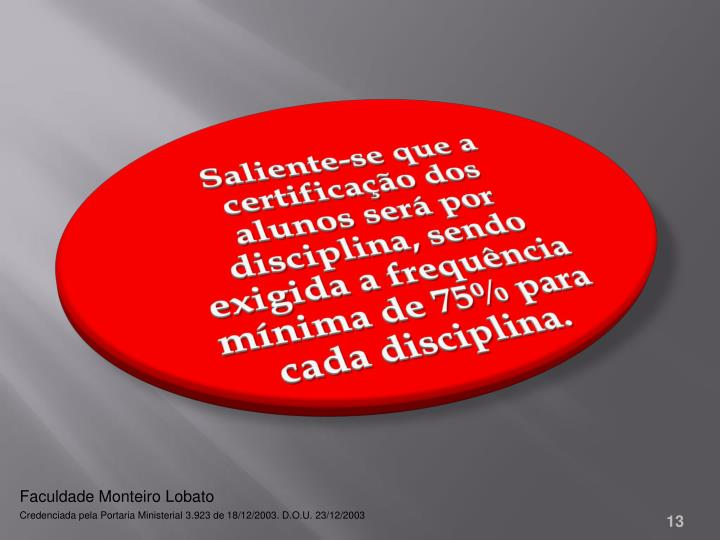 Faculdade Monteiro Lobato