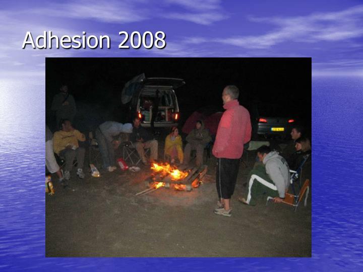 Adhesion 2008