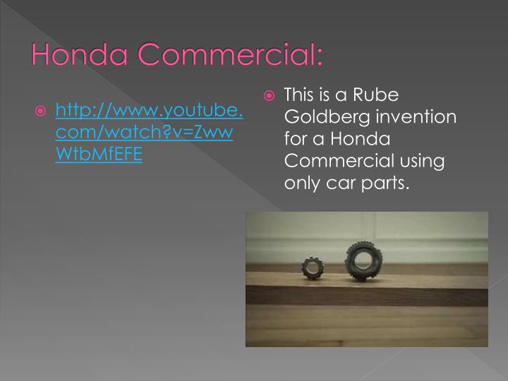 Honda Commercial: