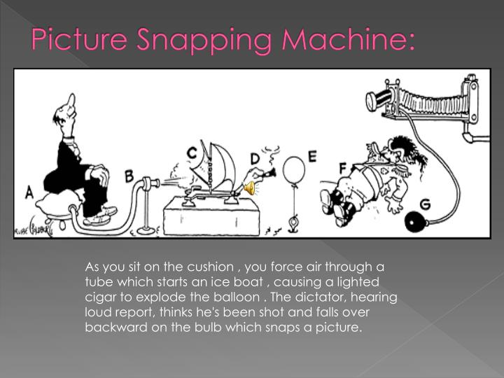 Picture Snapping Machine:
