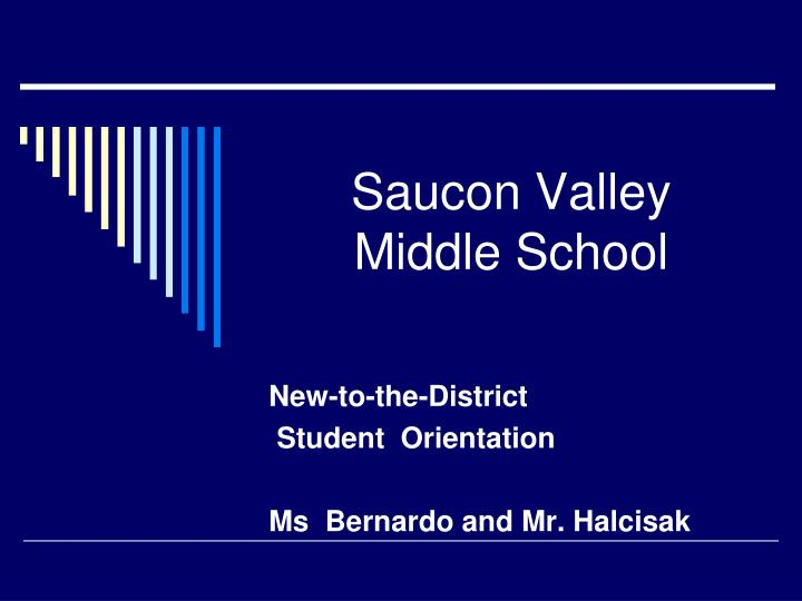 Saucon valley middle school