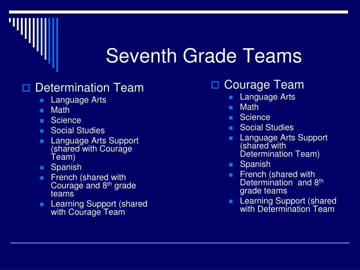Determination Team