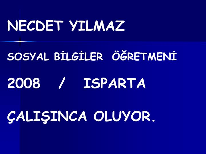 NECDET YILMAZ