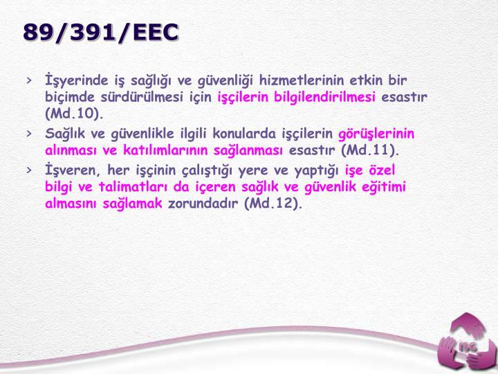 89/391/EEC
