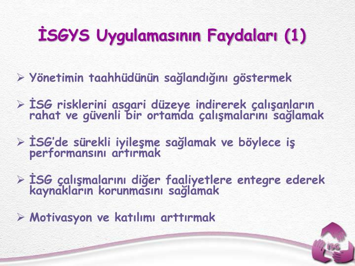 SGYS Uygulamasnn Faydalar (1)