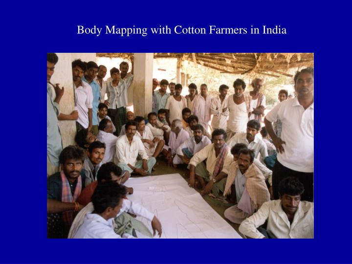Body Mapping with Cotton Farmers in India