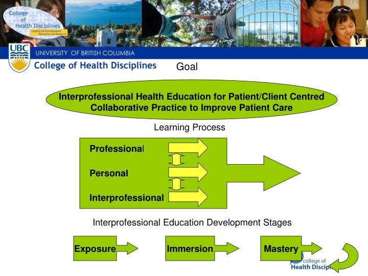 Interprofessional Education Model