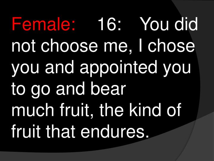 Female: