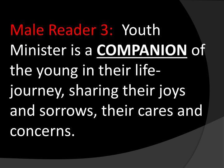 Male Reader 3: