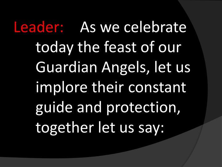 Leader: