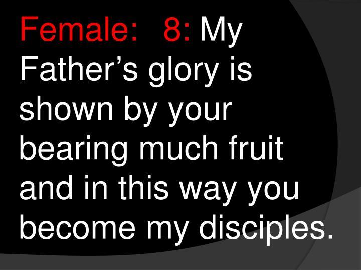 Female:8: