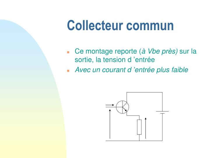 Collecteur commun
