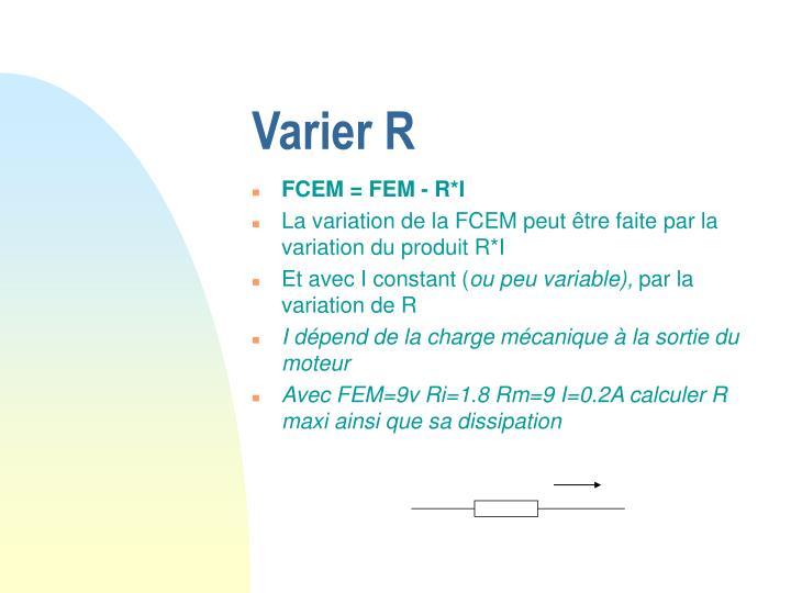 Varier R