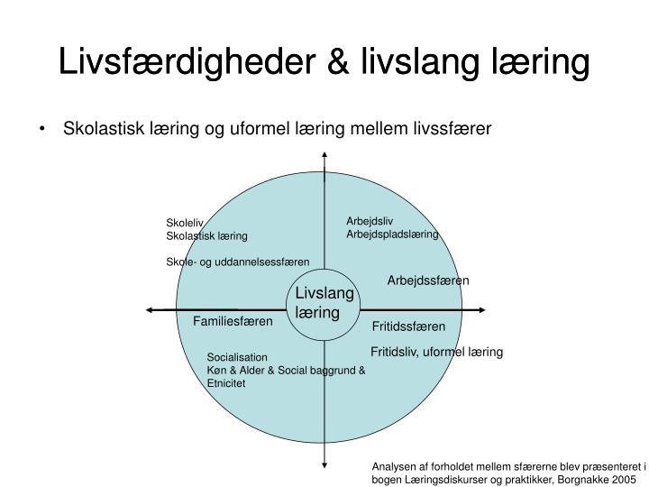 Livsfærdigheder & livslang læring
