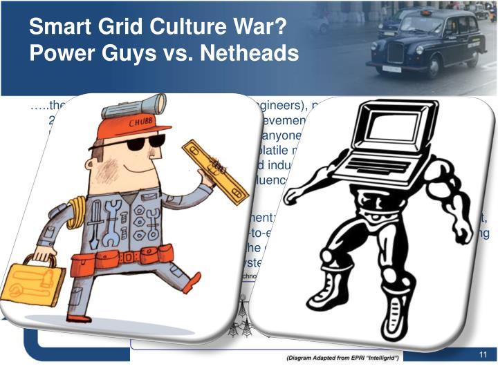 Smart Grid Culture War? Power Guys vs. Netheads