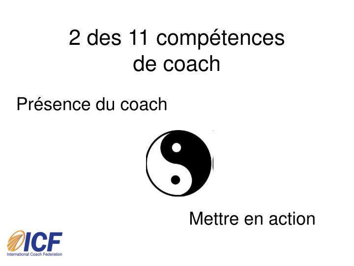 2 des 11 comp tences de coach