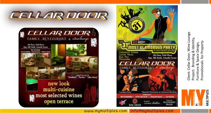 Client: Cellar Door, Wine Lounge