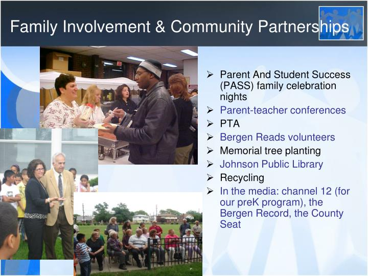 Family Involvement & Community Partnerships