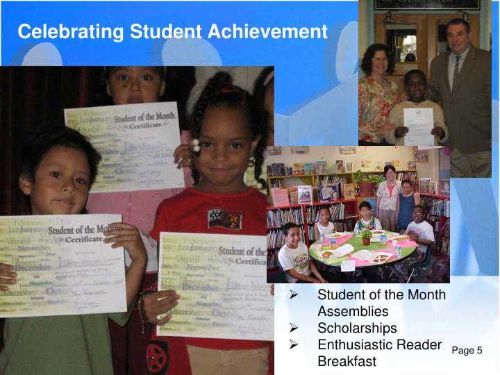 Celebrating Student Achievement