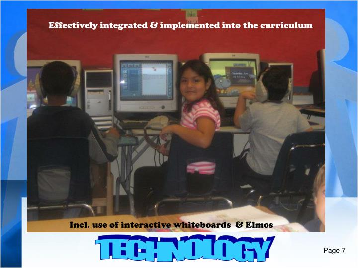Effectively integrated & implemented into the curriculum