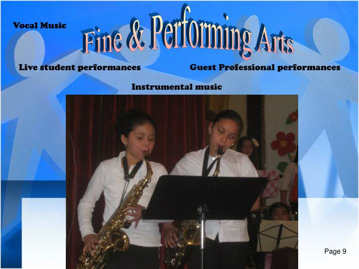 Fine & Performing Arts