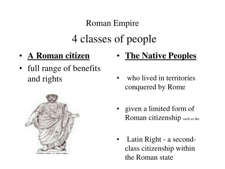 A Roman citizen