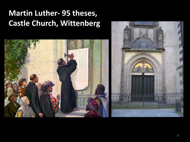 Martin Luther- 95 theses,