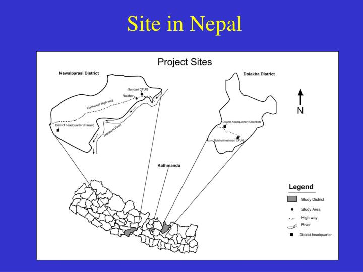 Site in Nepal