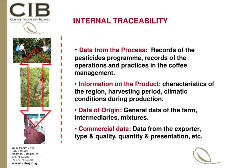 INTERNAL TRACEABILITY