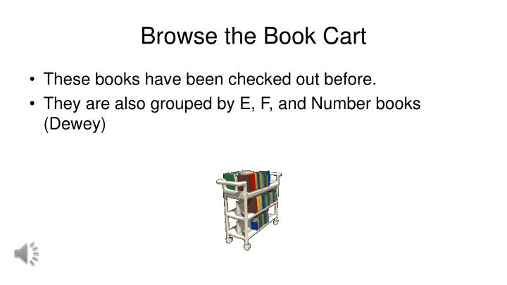 Browse the Book Cart