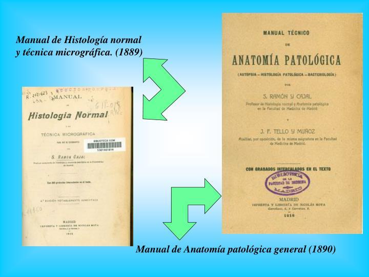 Manual de Histología normal