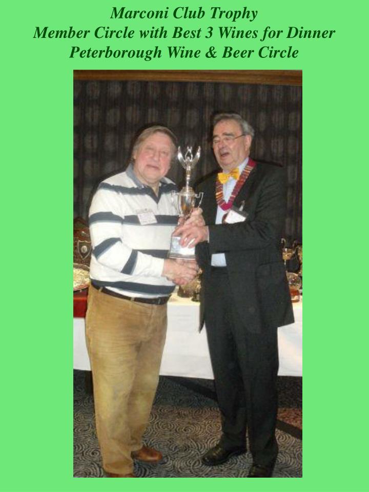 Marconi Club Trophy