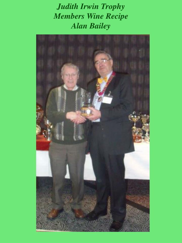 Judith Irwin Trophy
