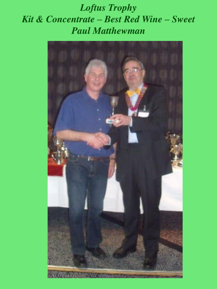 Loftus Trophy