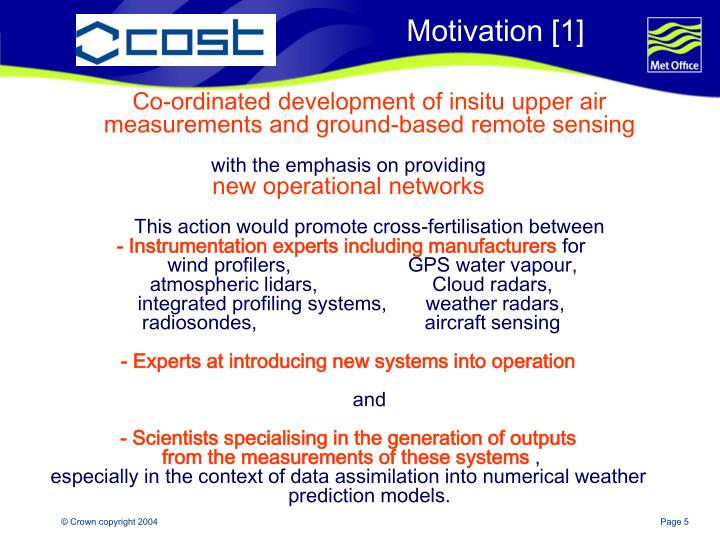 Co-ordinated development of insitu upper air measurements and ground-based remote sensing