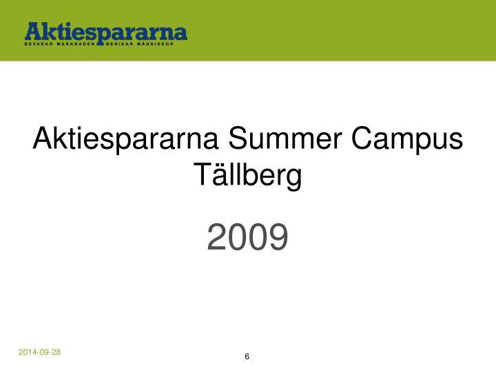 Aktiespararna Summer Campus